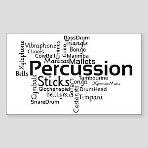 Percussion Sticker