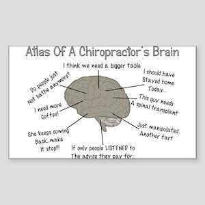 Chiropractor Humor Sticker