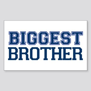 biggest brother t-shirt varsity Sticker (Rectangle