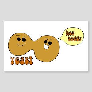 Yeast Buddies Rectangle Sticker