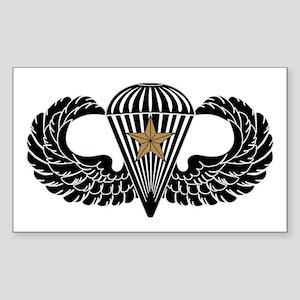Combat Jump Wings-1st award-3.0-Black Sticker