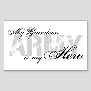 Grandson is my Hero ARMY Rectangle Sticker