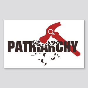 Smash Patriarchy Sticker (Rectangle)