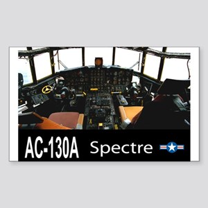 C-130 SPECTRE GUNSHIP Rectangle Sticker
