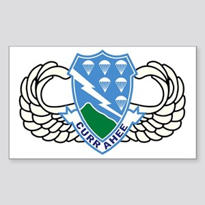 2-Army-506th-Infantry-Regiment Sticker (Rectangle)