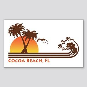 Cocoa Beach, FL Sticker (Rectangle)