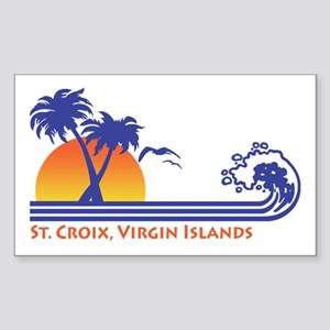 St. Croix Sticker (Rectangle)