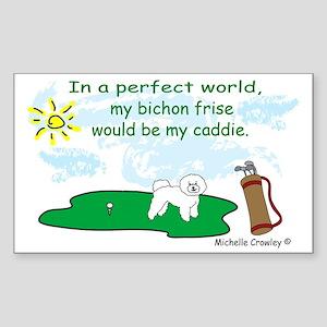 BichonFrise Sticker (Rectangle)