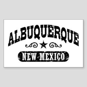 Albuquerque New Mexico Sticker (Rectangle)