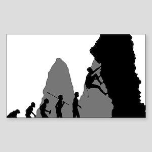 Rock-Climbing-02 Sticker (Rectangle)