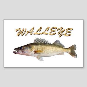 Golden Walleye Sticker