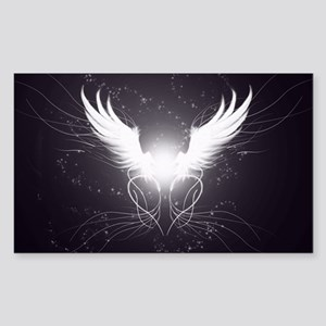 2-wings2.5 Sticker (Rectangle)