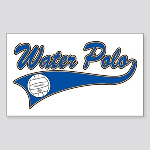 Water Polo 2 Rectangle Sticker