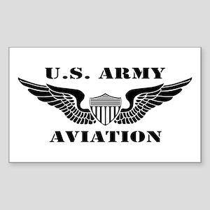 Aviator (2) Sticker (Rectangle)