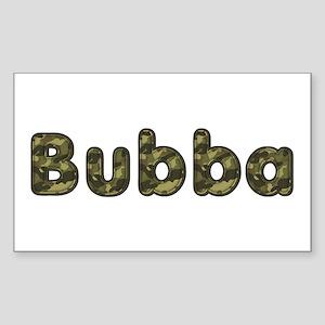Bubba Army Rectangle Sticker