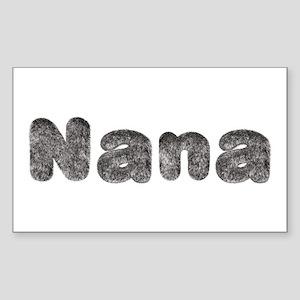 Nana Wolf Rectangle Sticker