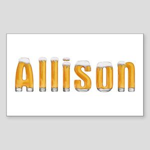 Allison Beer Rectangle Sticker