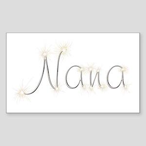 Nana Spark Rectangle Sticker