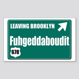 Brooklyn Sticker (Rectangle)