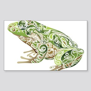 Filligree Frog Sticker