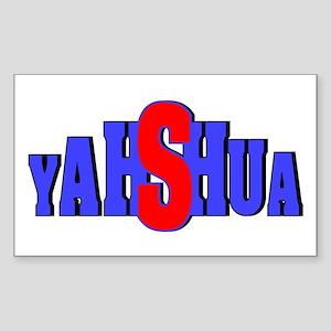 Yahshua Rectangle Sticker