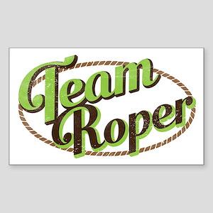 Team Roper Sticker