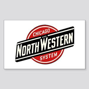 Chicago & Northwestern Angled Sticker