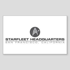 Starfleet Headquarters Promo Design Sticker