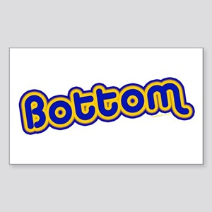 Bottom Rectangle Sticker