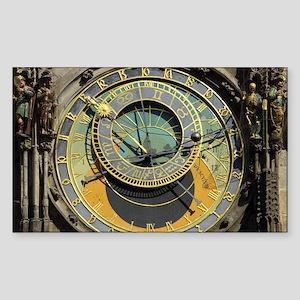 Prague Astronomy Clock Sticker