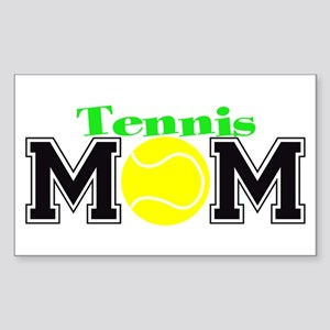Tennis Mom Rectangle Sticker