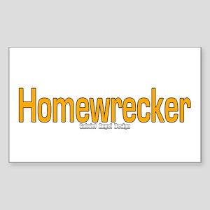 Homewrecker Rectangle Sticker