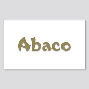 Abaco Rectangle Sticker