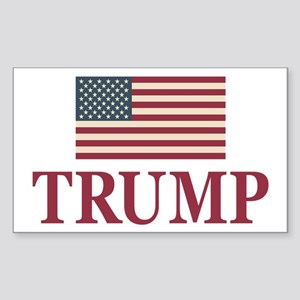 Trump 2016 Flag Sticker