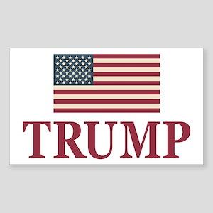 Trump 2016 Flag Sticker