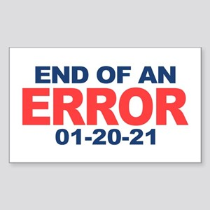 End of an Error 2021 Sticker