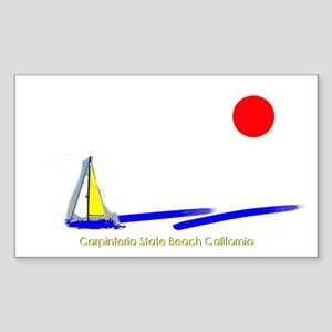 Carruthers Cove Rectangle Sticker