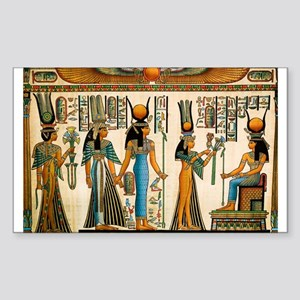 Ancient Egyptian Wall Tapestry Sticker (Rectangle)
