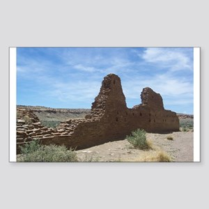 Chaco Canyon Indian Ruin Site Sticker