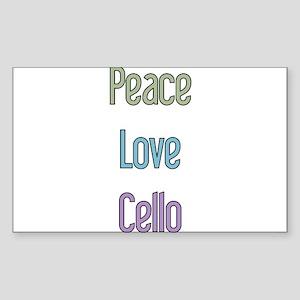 Cello Gift Rectangle Sticker