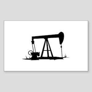 OIL WELL SILHOUETTE Sticker