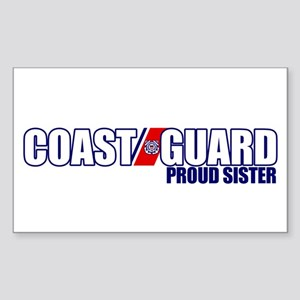 USCG Sister Sticker (Rectangle)