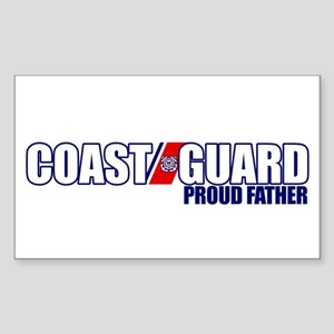 USCG Father Sticker (Rectangle)