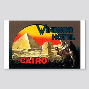 Cairo Egypt Rectangle Sticker