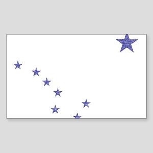 Faded Alaska State Flag Sticker