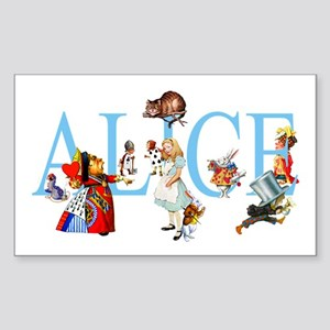 ALICE & FRIENDS Rectangle Sticker