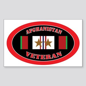 Afghanistan-2-oval Sticker (Rectangle)