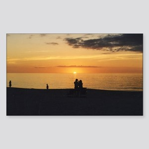 Marco Island, Florida Sunset Sticker (Rectangle)