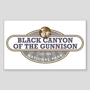 Black Canyon o the Gunnison National Park Sticker