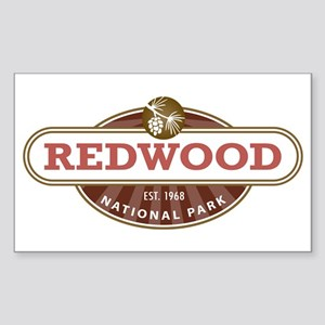 Redwood National Park Sticker